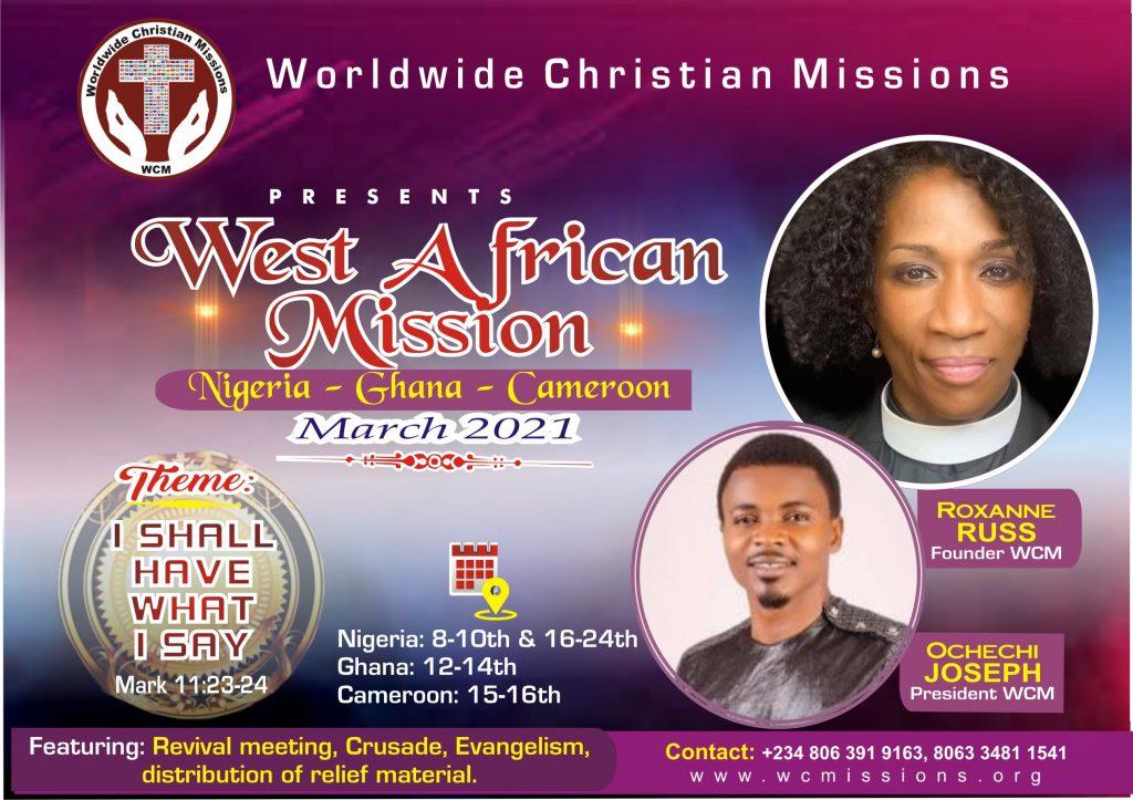WCM Februay 2021 mission