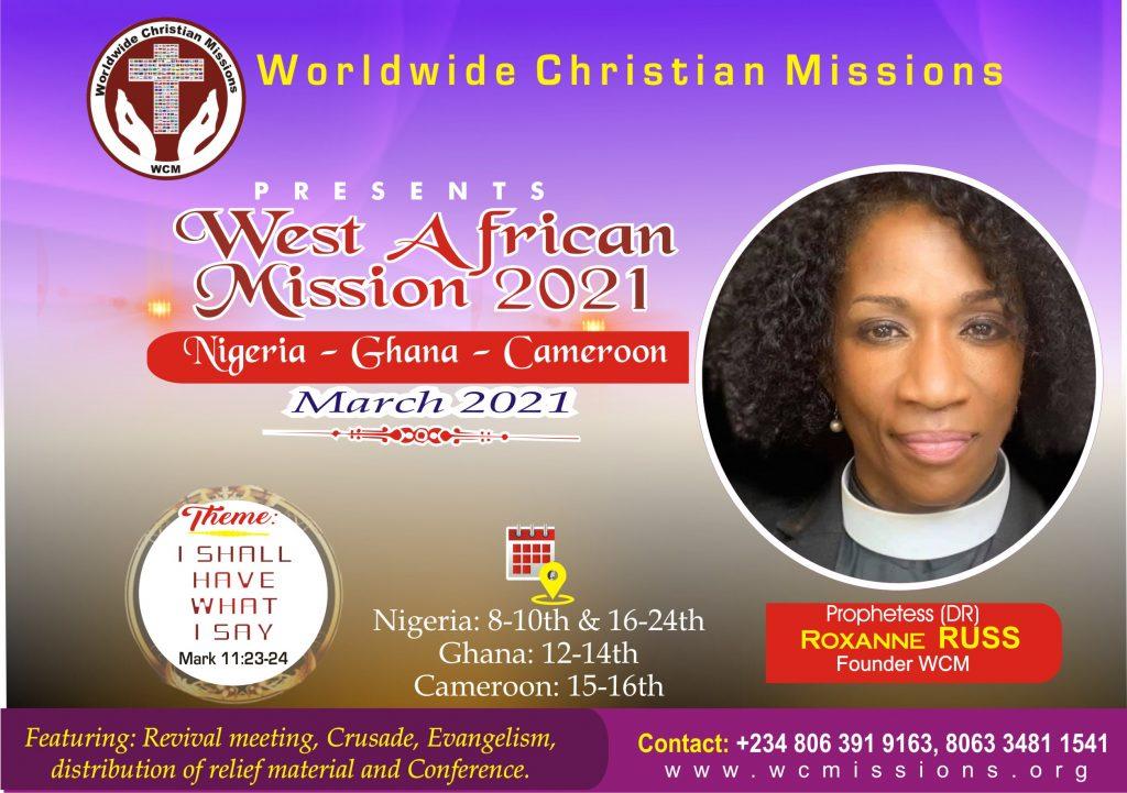 Mission 2021 Session 1